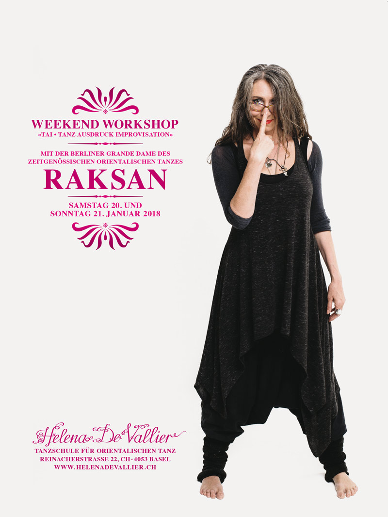 Weekend Workshop mit Raksan aus Berlin